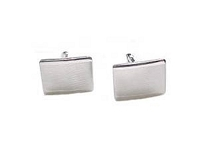 Sterling Silver Cuff Links Made in Italy