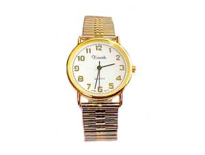 Plus Size Watch Men's Stretch Two Tone Style 74