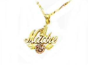 Women's 14k Gold Necklace for Madre