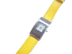 Plus Size Watch Women's Yellow Strap to 8 Inch