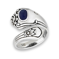 Spoon Ring Sodalite Large Sizes