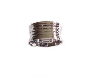 Plus Size Ring Concave Band for Men or Women