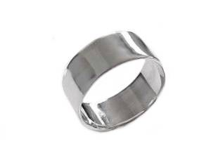 Plus Size Ring Sterling Silver Ring Wide Band