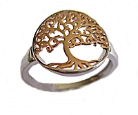 Tree of Life Large Size Ring