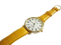 Yellow Plus Size Watch Long Strap to 8.5 Inch