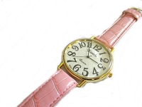 Pink Plus Size Watch Long Strap to 8.5 Inch