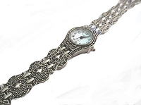 Plus Size Watch Marcasite
