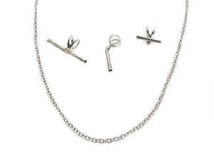 Pin to Pendant Converter Set With Chain