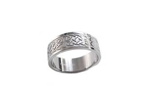 Stainless Steel Plus Size Ring or Wedding Band